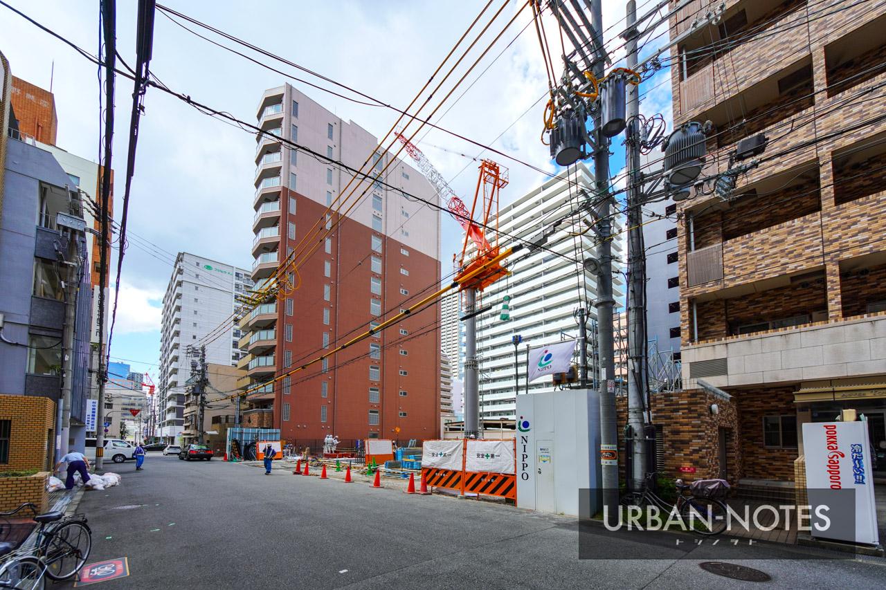 NIPPO 関西支店ビル新築工事 2021年9月 02