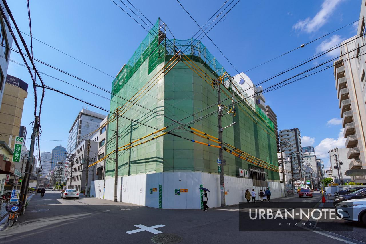 NTT西日本 博労町ビル 解体工事 2021年10月 01