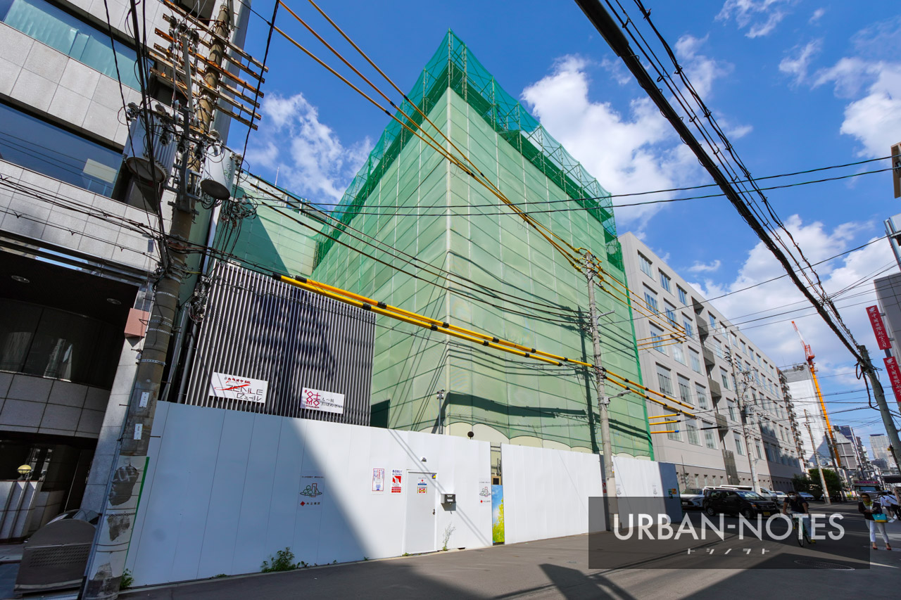 NTT西日本 博労町ビル 解体工事 2021年10月 02