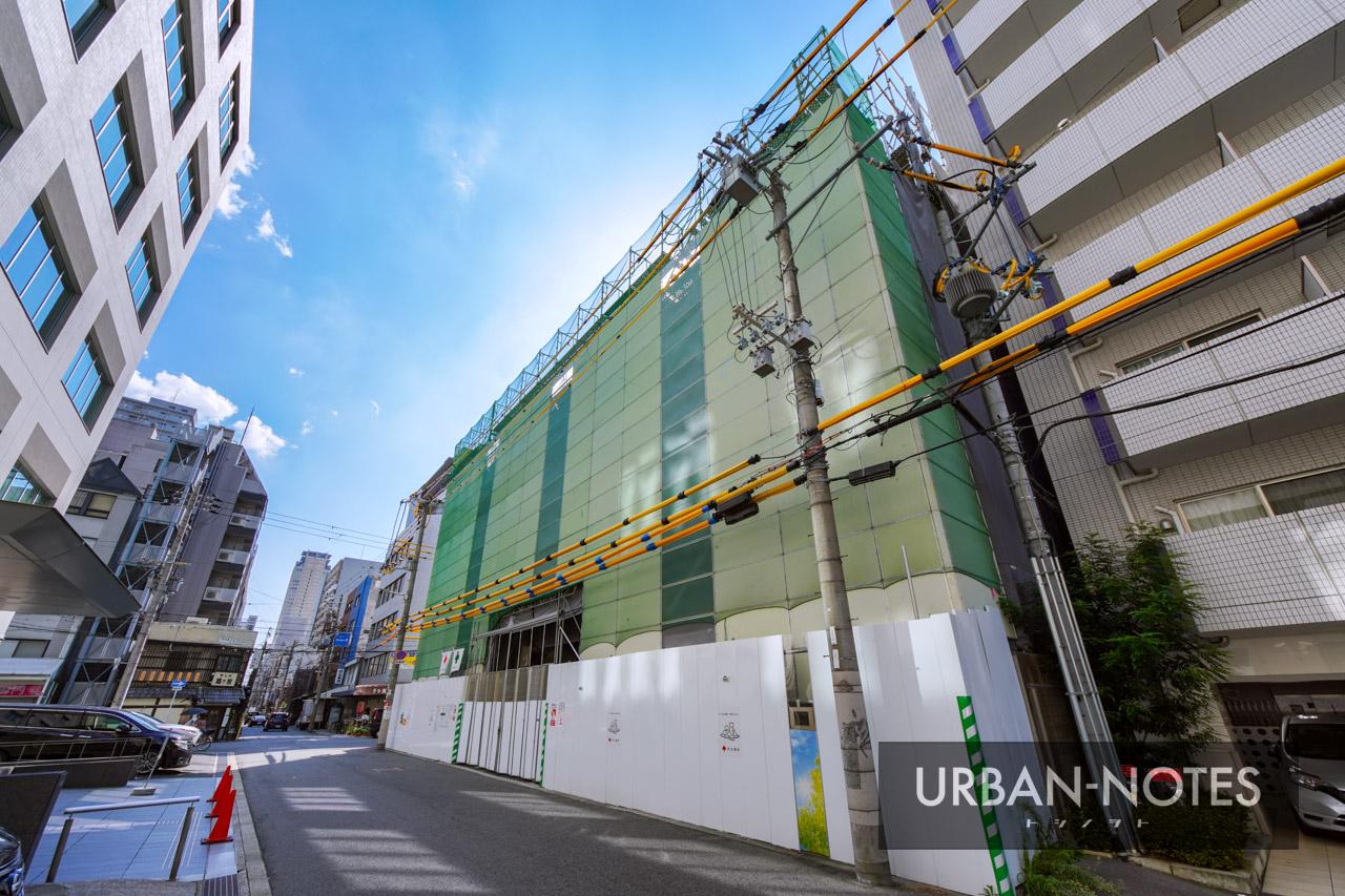 NTT西日本 博労町ビル 解体工事 2021年10月 03