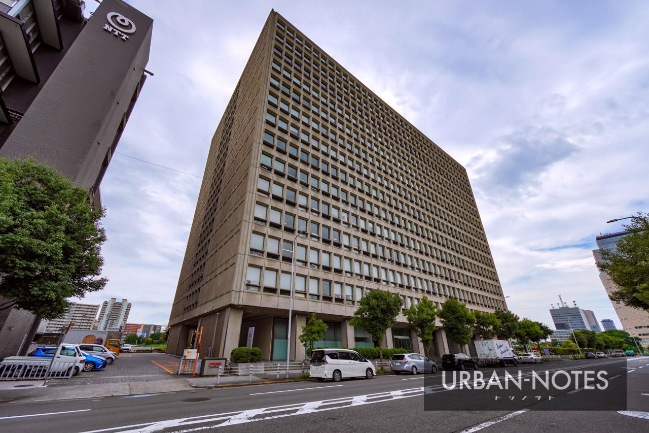 NTT西日本本社ビル建替計画 (法円坂北特定街区) 2021年9月 05