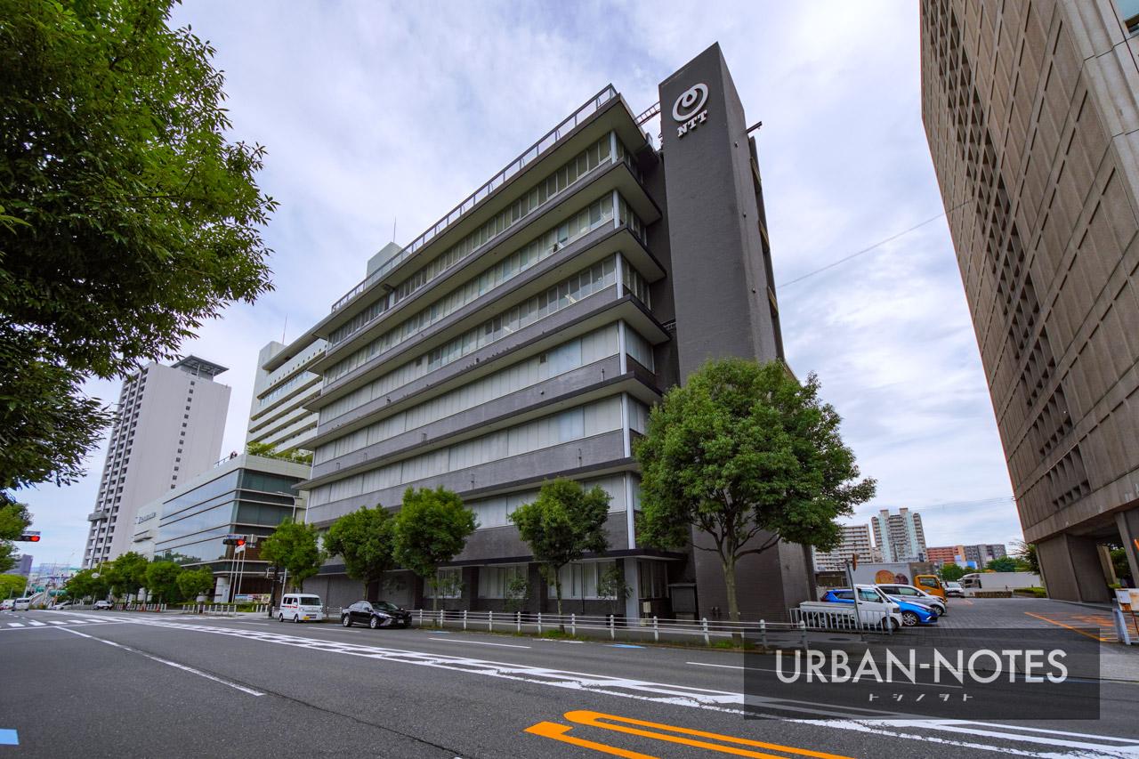 NTT西日本本社ビル建替計画 (法円坂北特定街区) 2021年9月 08