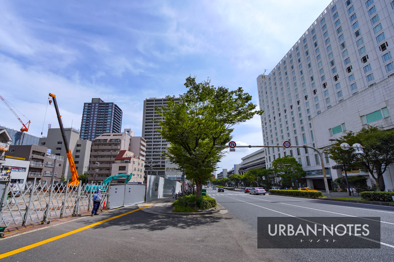 (仮称)OMタワー上本町 新築工事 2021年9月 04