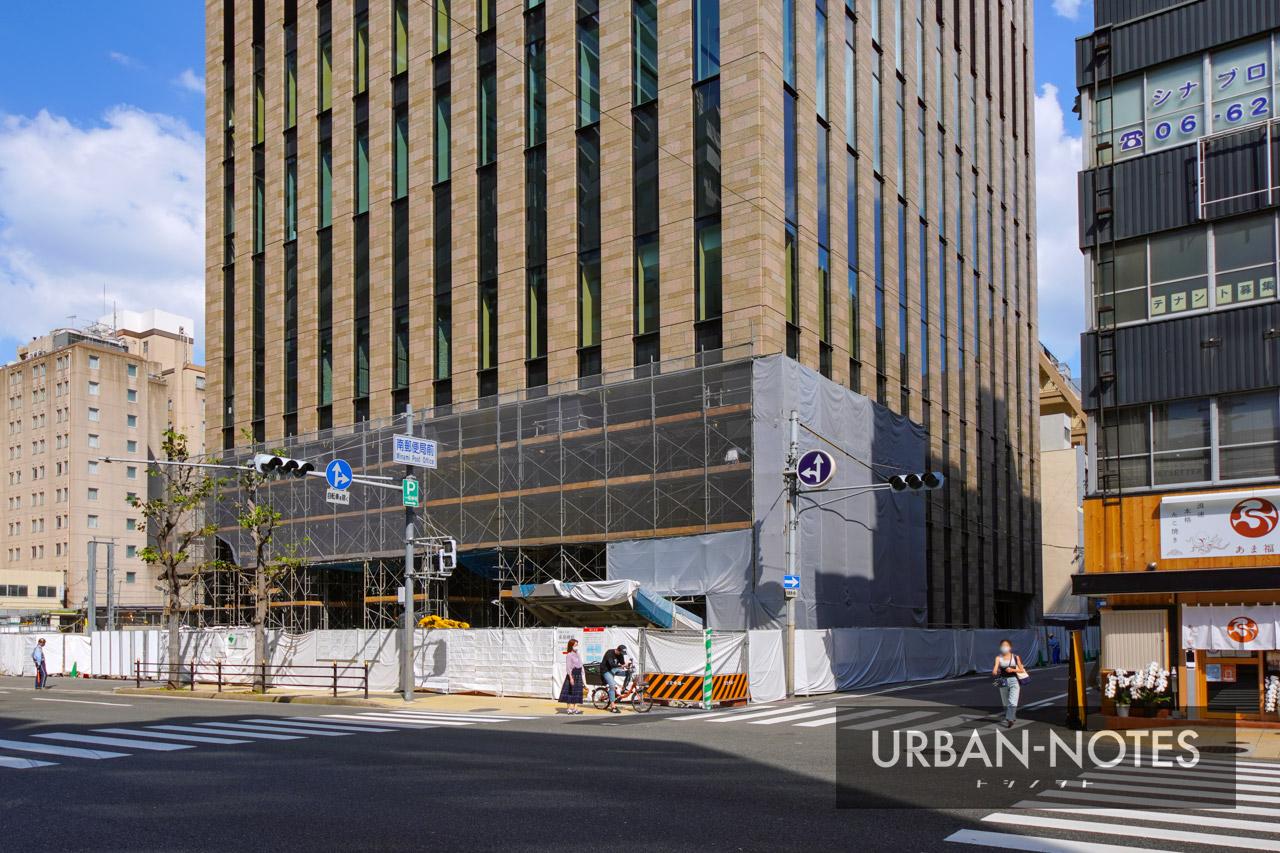 大阪厚生信用金庫新本店ビル 2021年10月 04