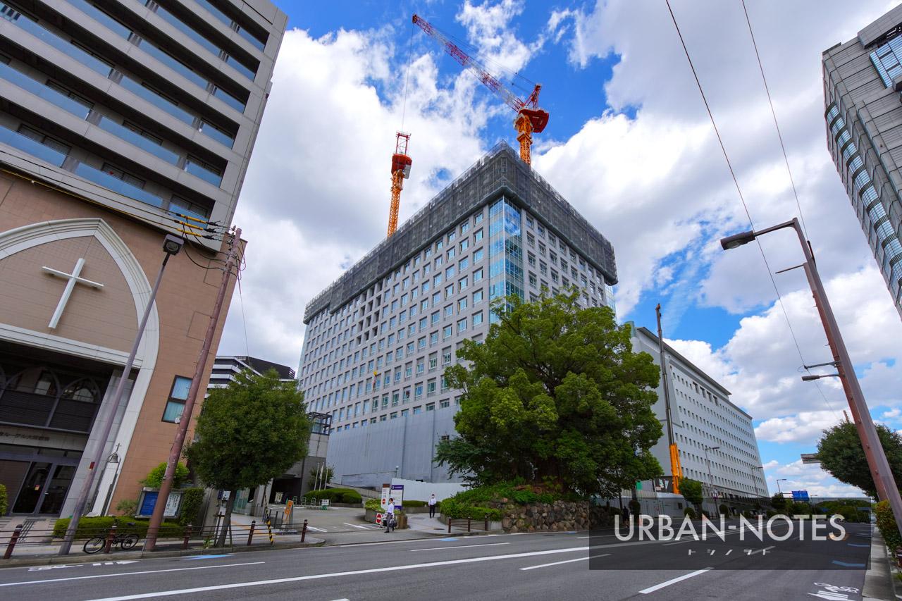 大阪第6地方合同庁舎 2021年9月 01