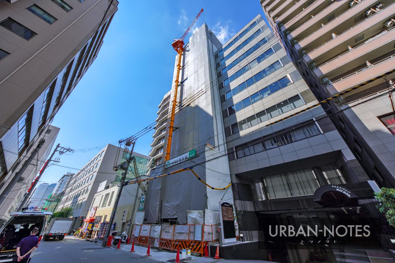 (仮称)博労町ワンルームマンション新築工事 2021年10月 03