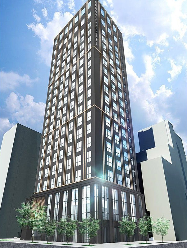 大阪グランベルホテル 完成イメージ図